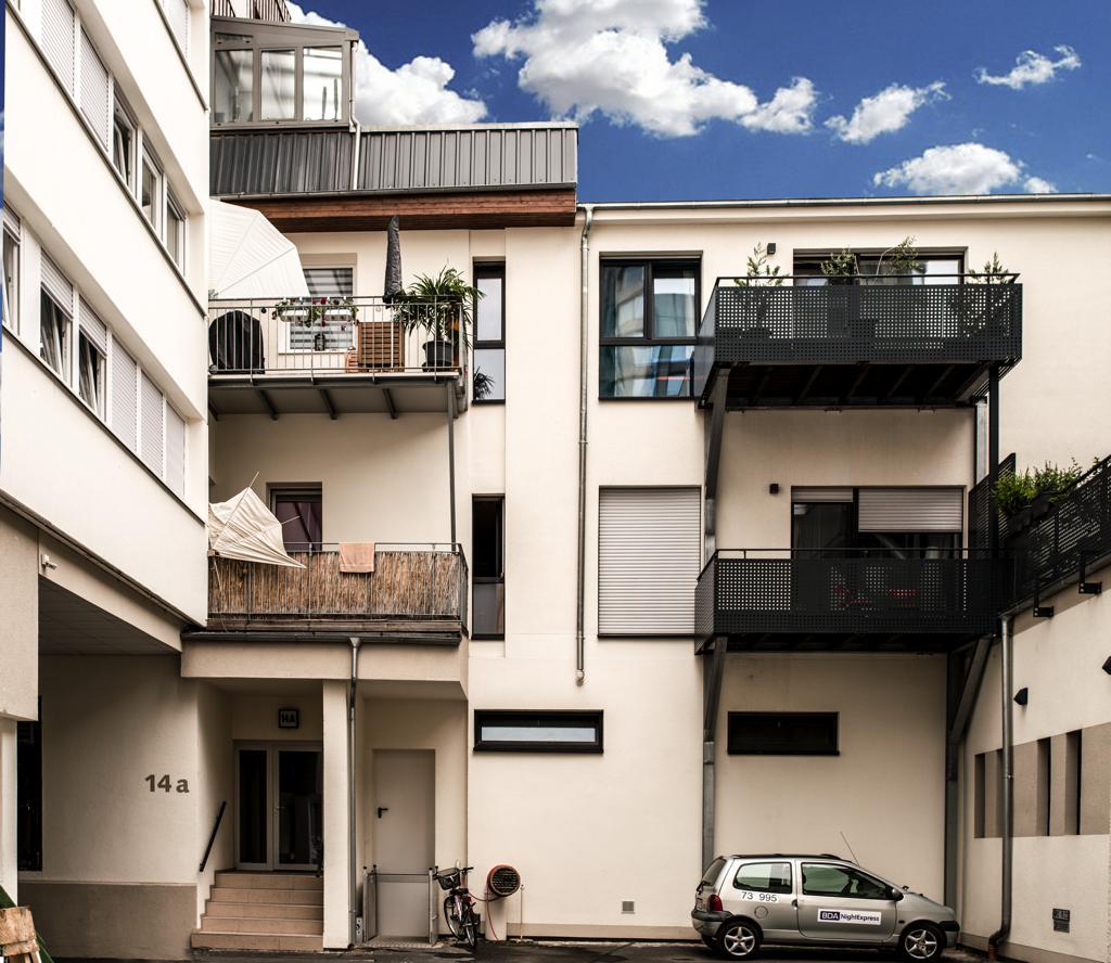 ReKonstrukt, Frauenlobstraße, Ziberi Projekt- & Wohnbau, Ziberi GmbH & Co. KG, Mainz, Schlüsselfertiges Bauen